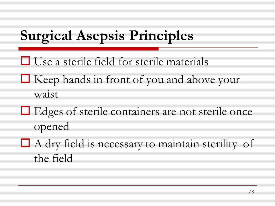 Surgical Asepsis Principles
