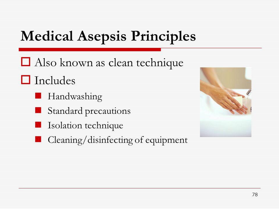 Medical Asepsis Principles