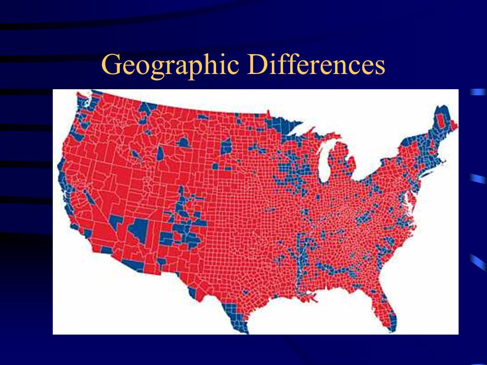 Geographic Differences