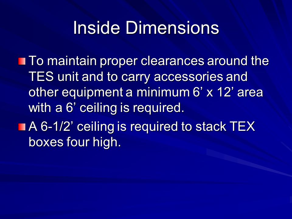 Inside Dimensions