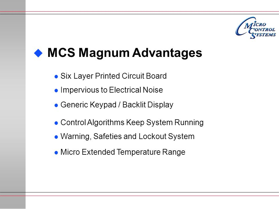 MCS Magnum Advantages Six Layer Printed Circuit Board