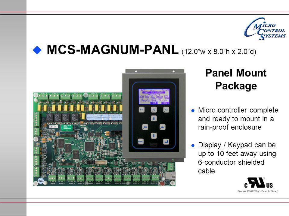 MCS-MAGNUM-PANL (12.0 w x 8.0 h x 2.0 d)