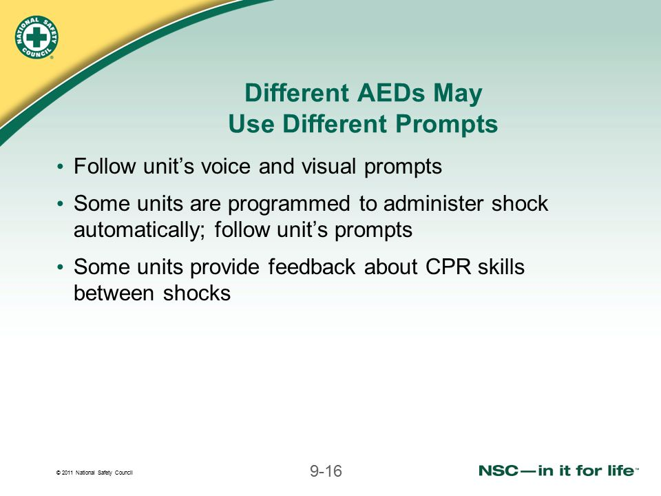 Different AEDs May Use Different Prompts