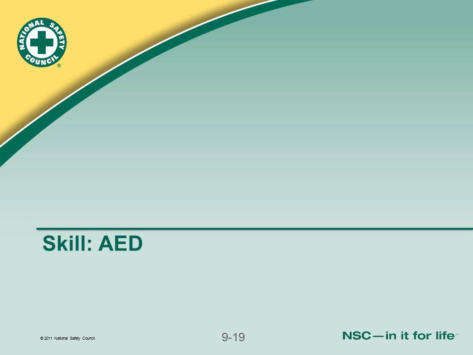 Skill: AED
