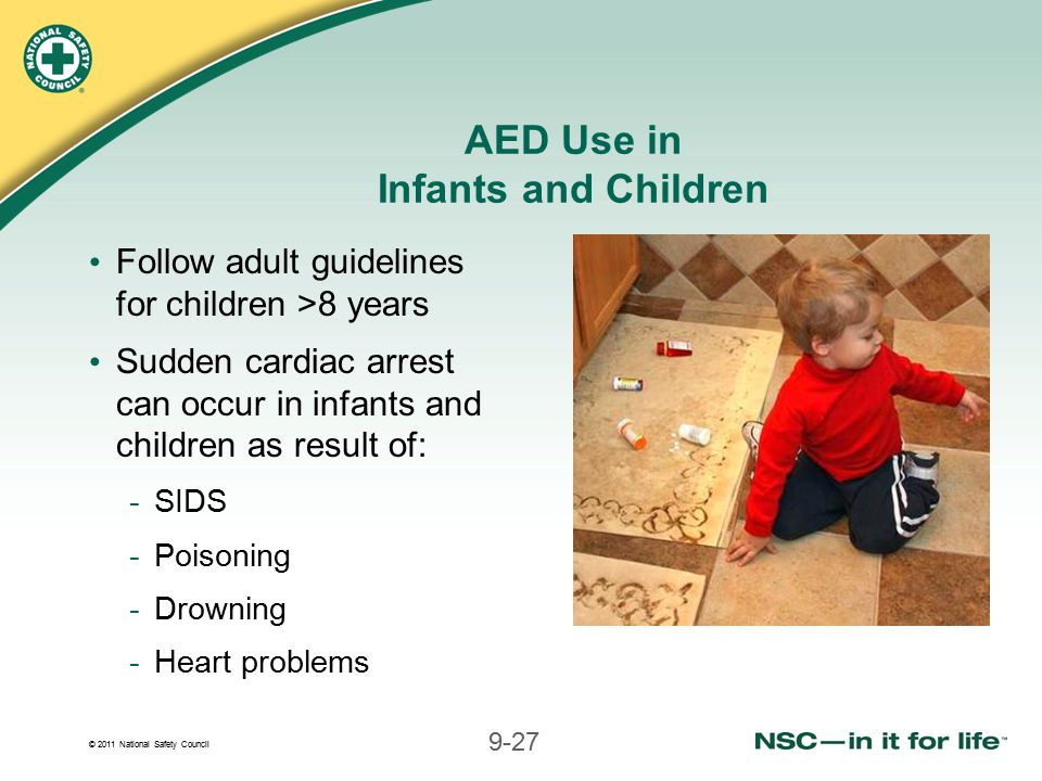 AED Use in Infants and Children