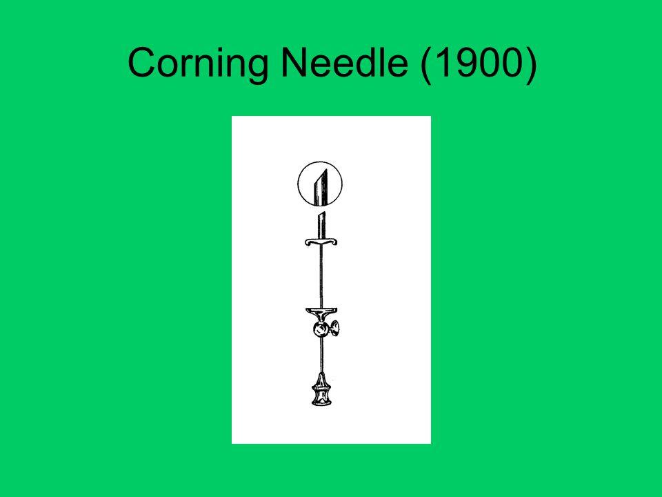 Corning Needle (1900)