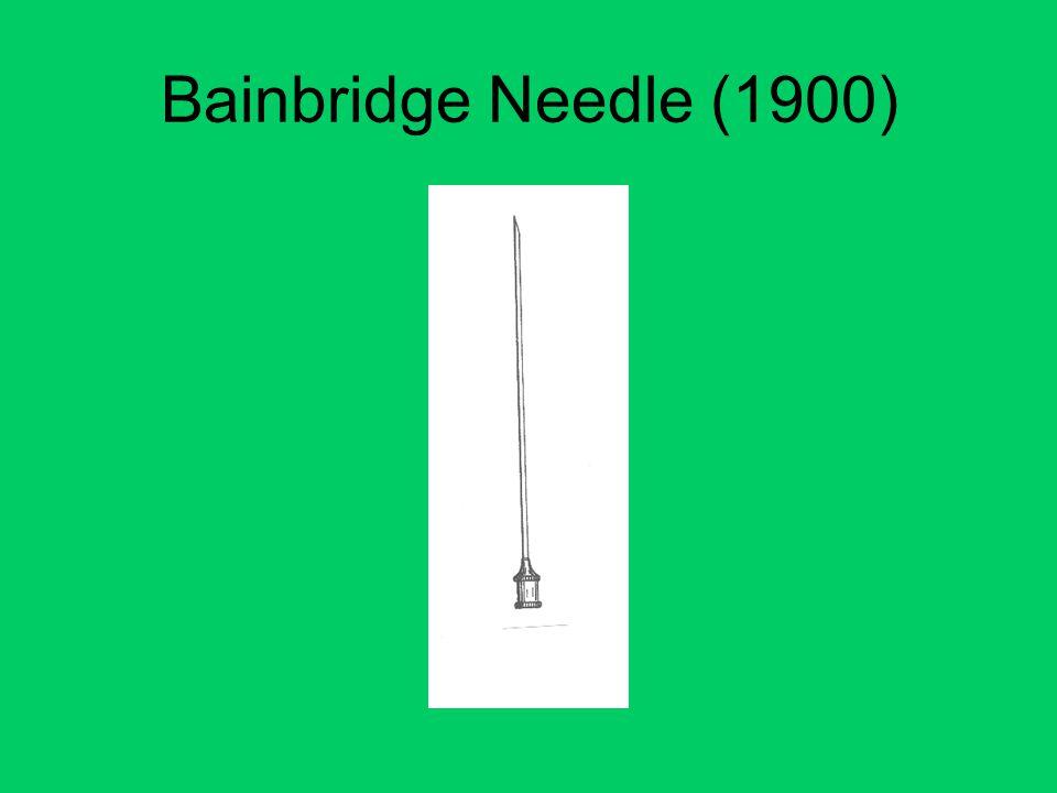 Bainbridge Needle (1900)
