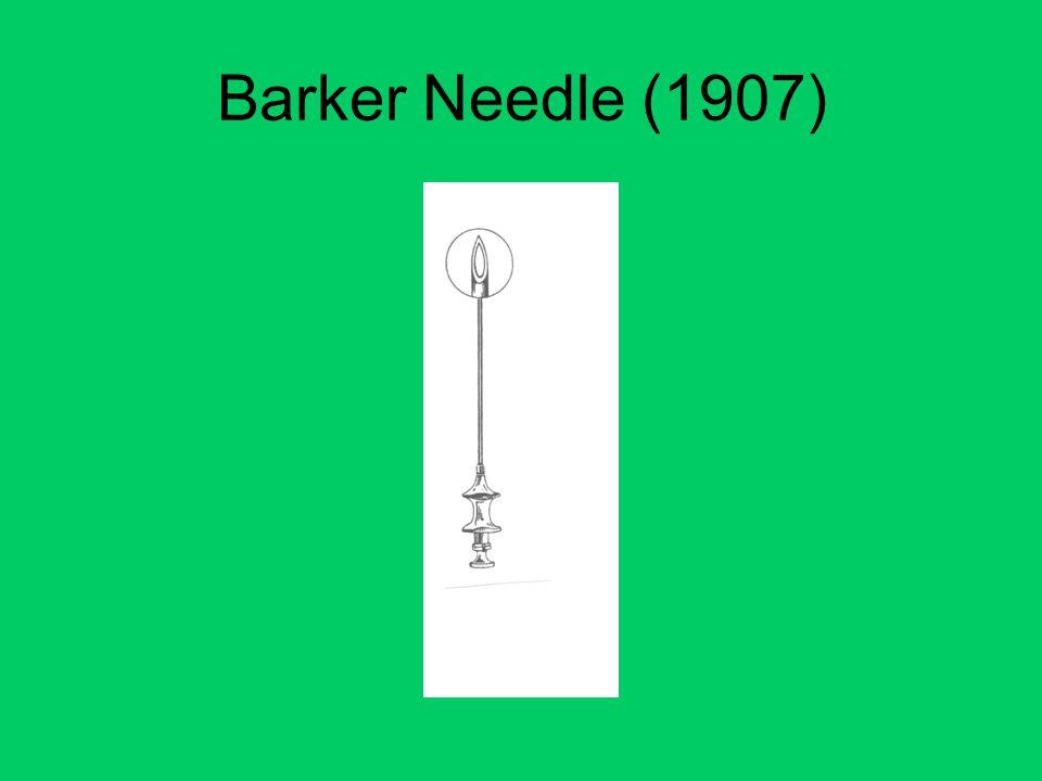 Barker Needle (1907)