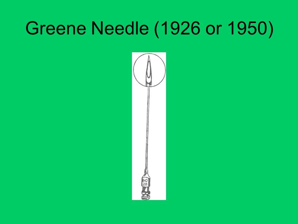 Greene Needle (1926 or 1950)