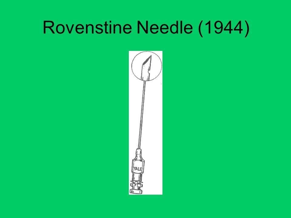 Rovenstine Needle (1944)