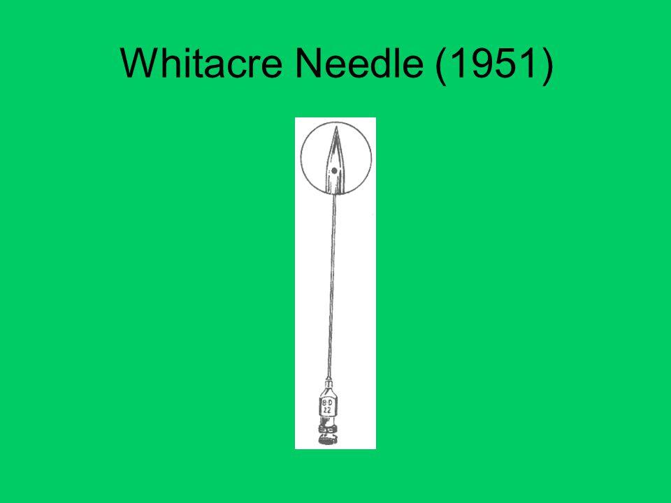 Whitacre Needle (1951)