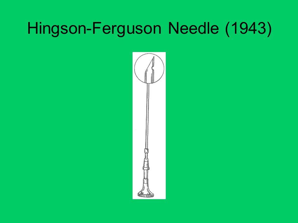 Hingson-Ferguson Needle (1943)