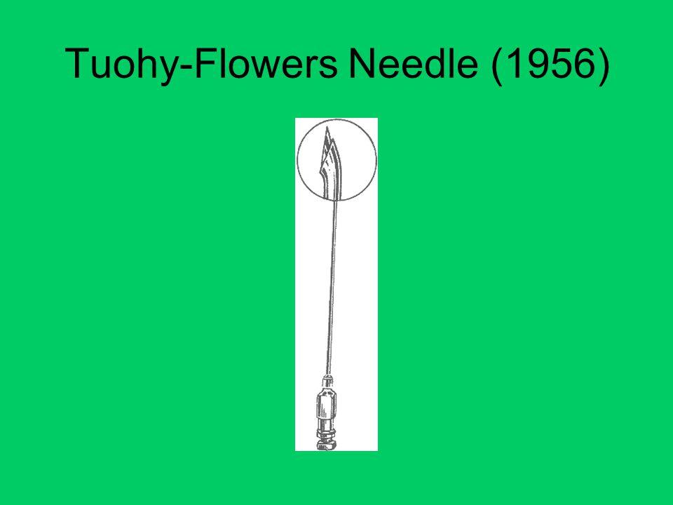 Tuohy-Flowers Needle (1956)