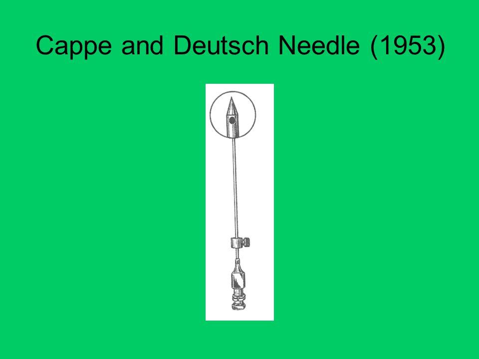 Cappe and Deutsch Needle (1953)