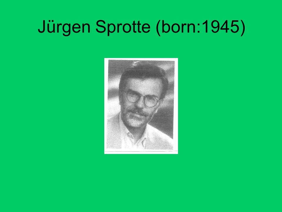 Jürgen Sprotte (born:1945)