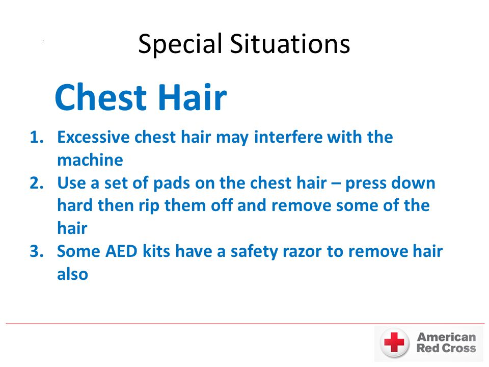 Chest Hair Special Situations