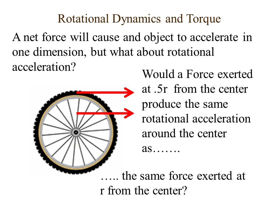 Rotational Dynamics and Torque