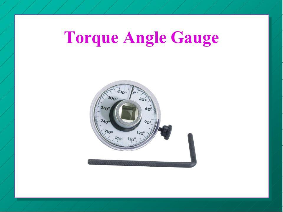 Torque Angle Gauge