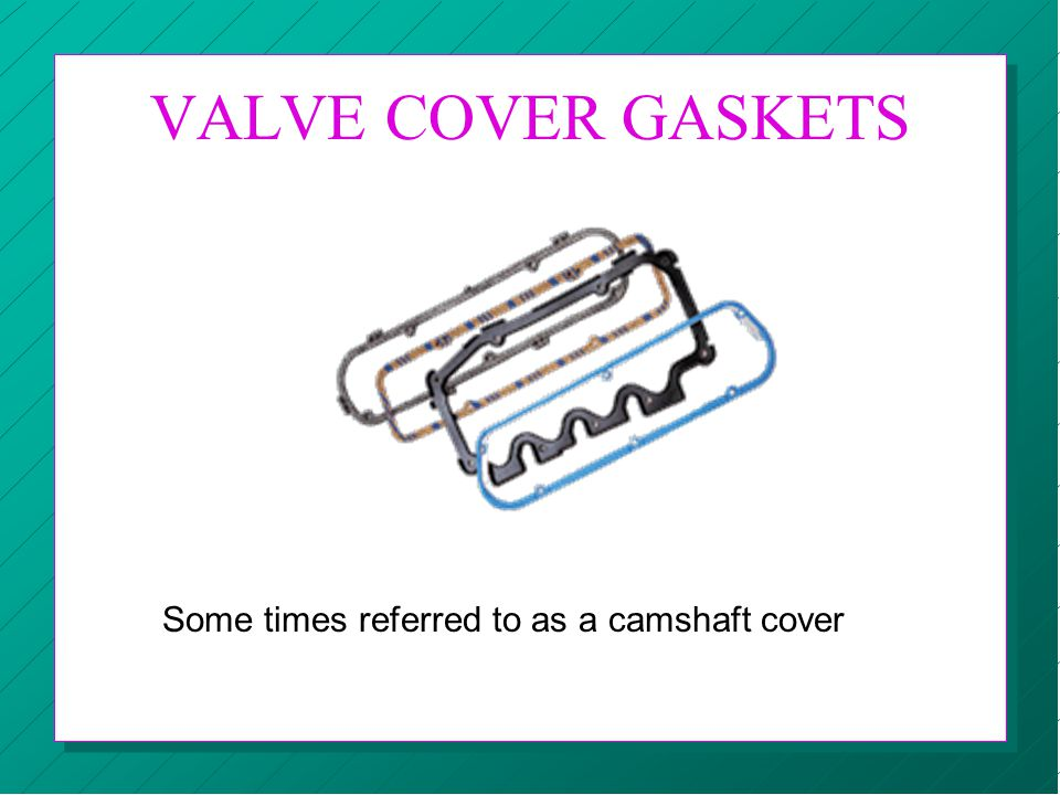 Some times referred to as a camshaft cover