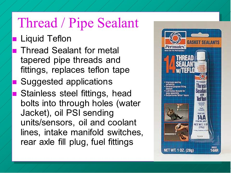 Thread / Pipe Sealant Liquid Teflon