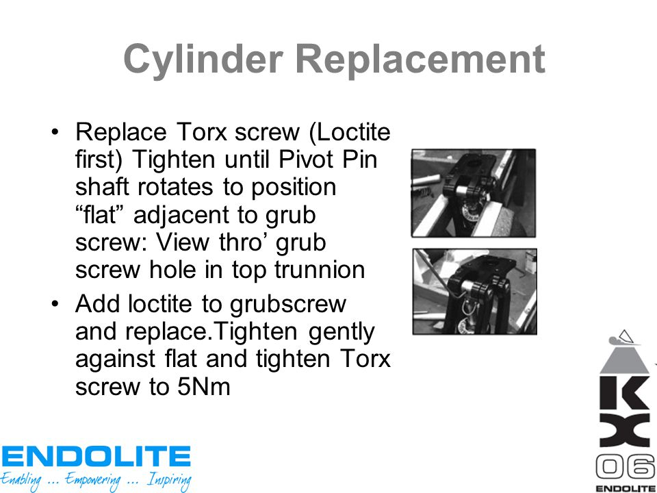 Cylinder Replacement