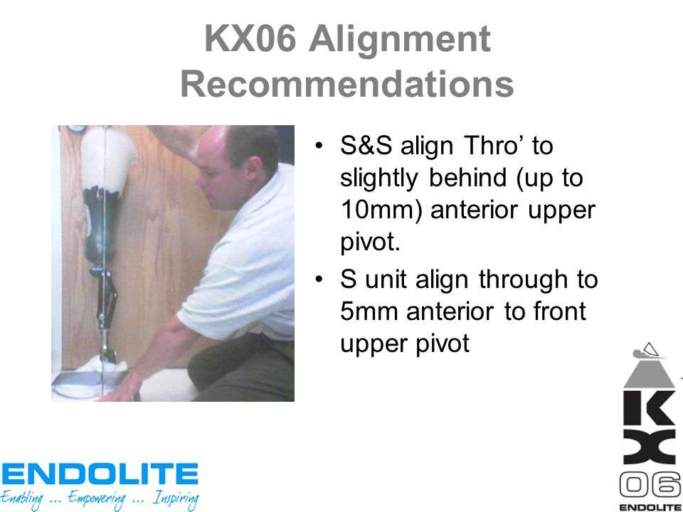 KX06 Alignment Recommendations