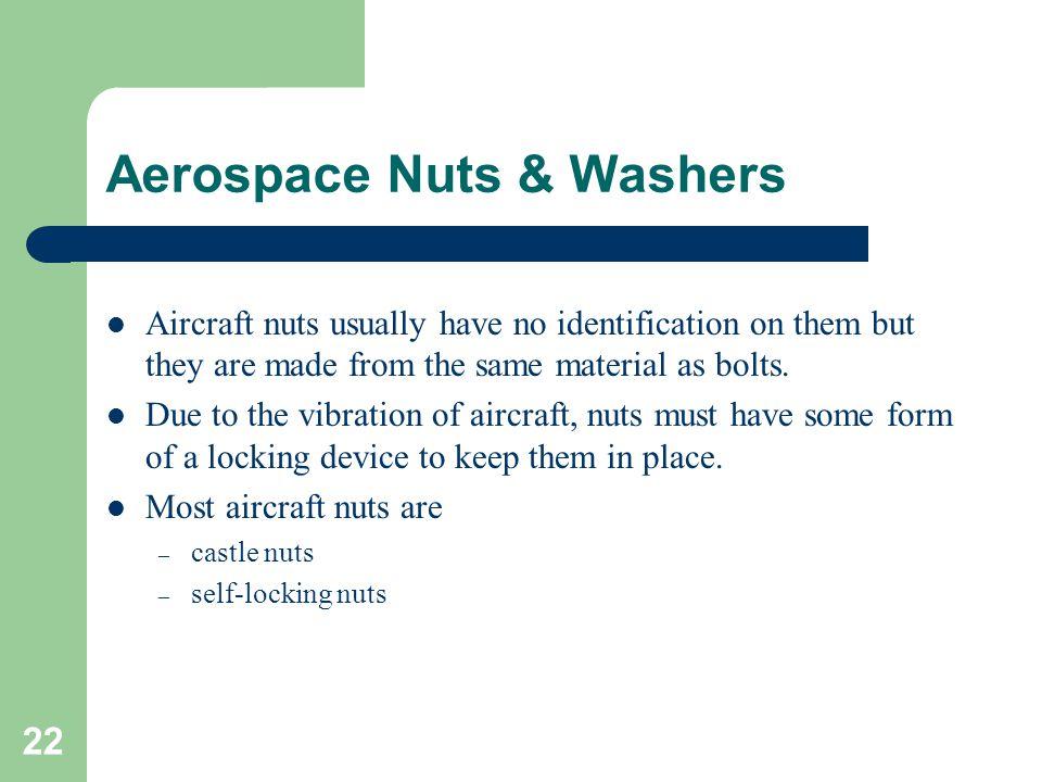 Aerospace Nuts & Washers