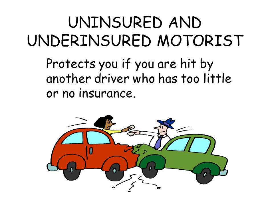 UNINSURED AND UNDERINSURED MOTORIST