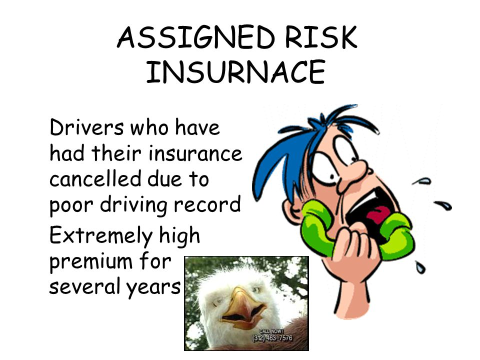 ASSIGNED RISK INSURNACE