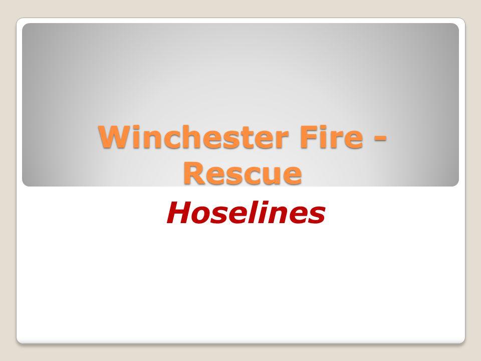 Winchester Fire - Rescue