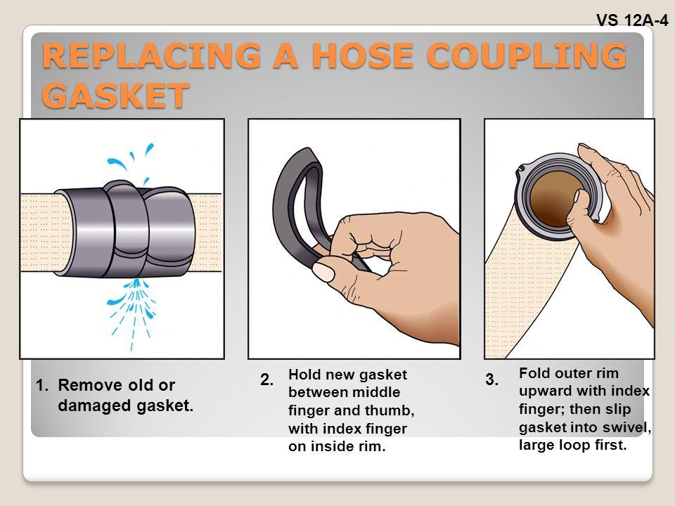 REPLACING A HOSE COUPLING GASKET