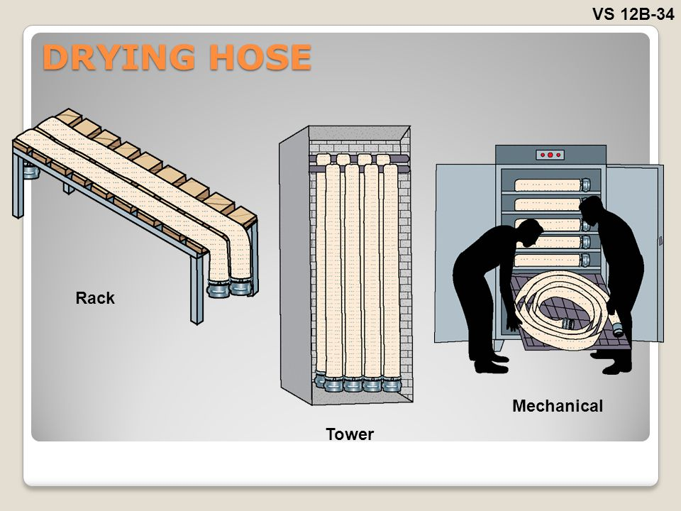 VS 12B-34 DRYING HOSE Rack Mechanical Tower