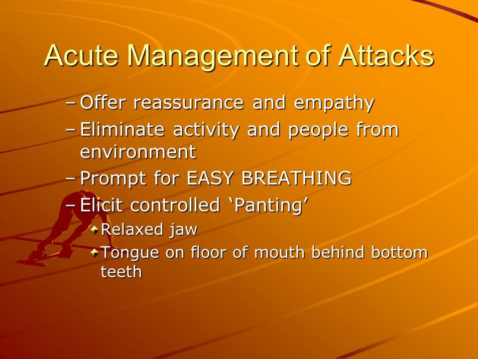 Acute Management of Attacks