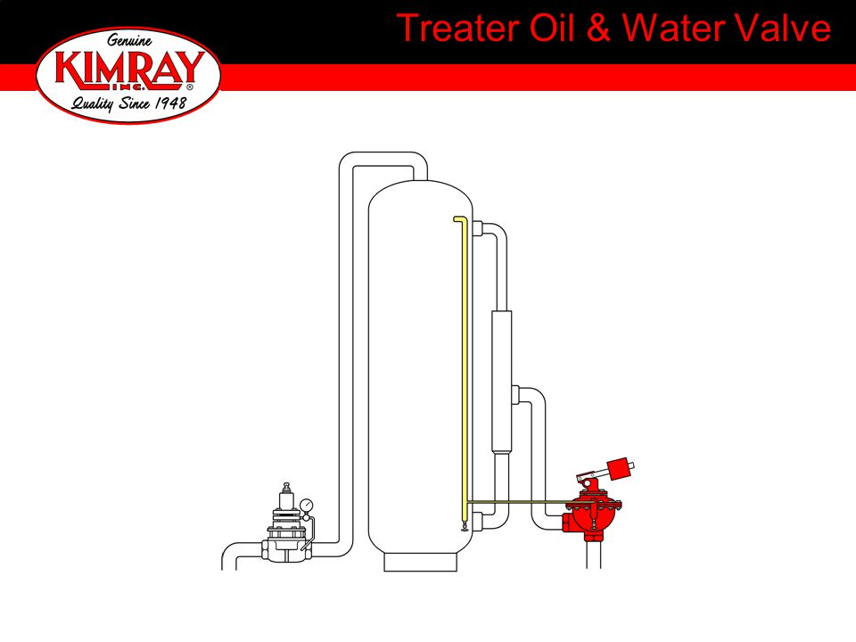 Treater Oil & Water Valve