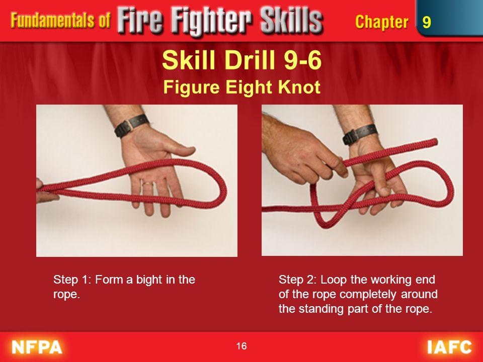 Skill Drill 9-6 Figure Eight Knot