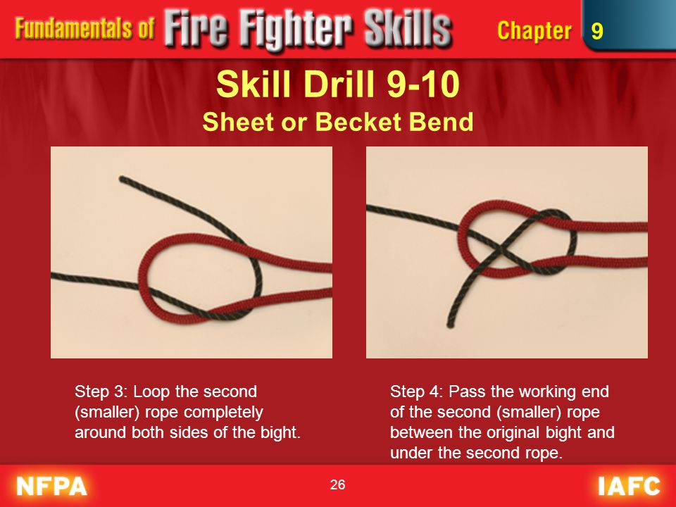 Skill Drill 9-10 Sheet or Becket Bend