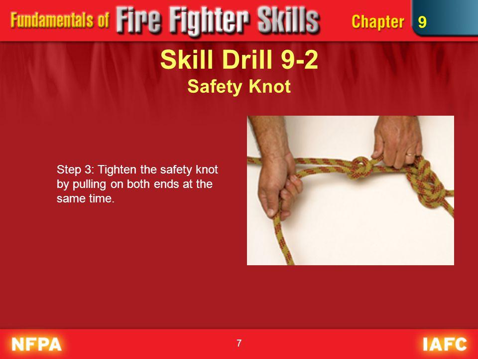 Skill Drill 9-2 Safety Knot
