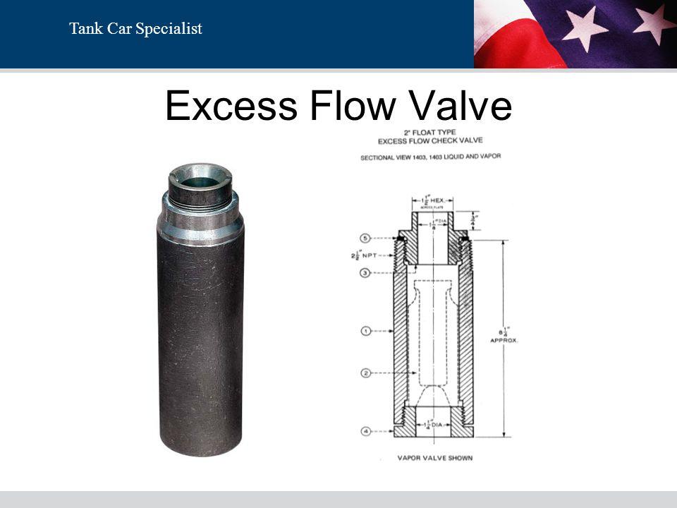Excess Flow Valve