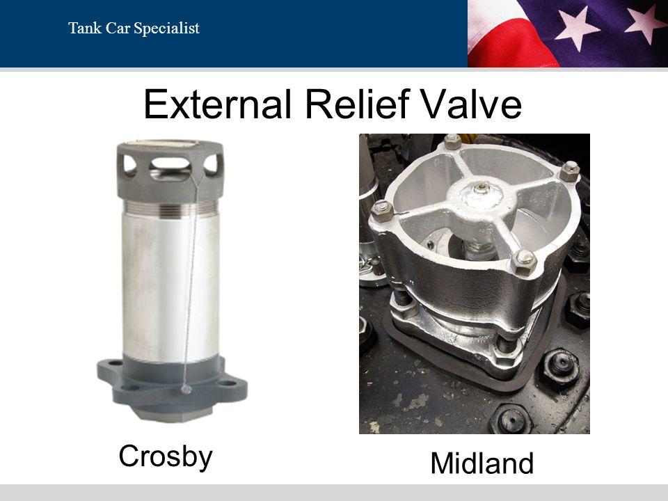 External Relief Valve Crosby Midland