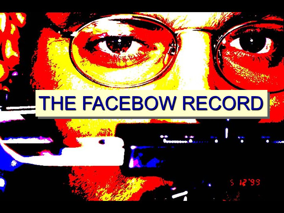 THE FACEBOW RECORD