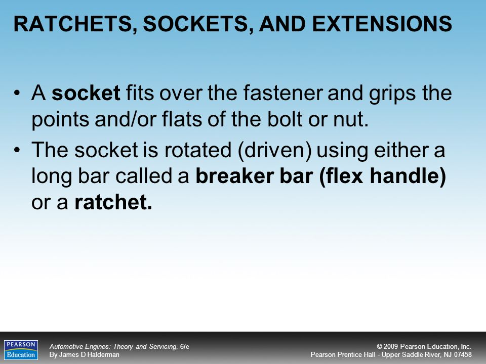 RATCHETS, SOCKETS, AND EXTENSIONS