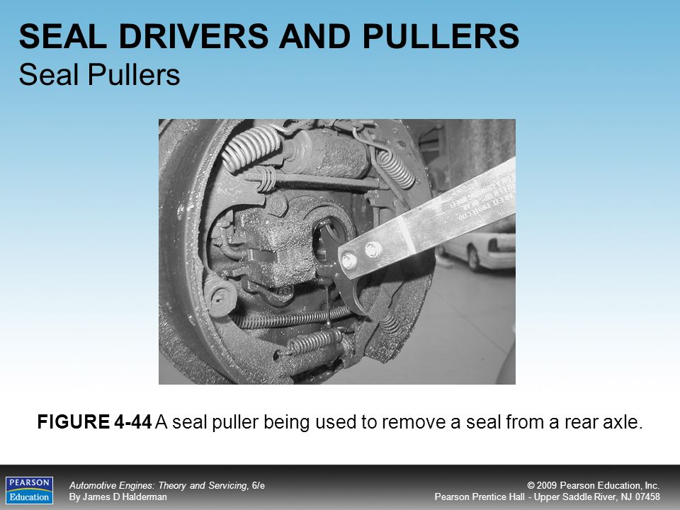 SEAL DRIVERS AND PULLERS Seal Pullers