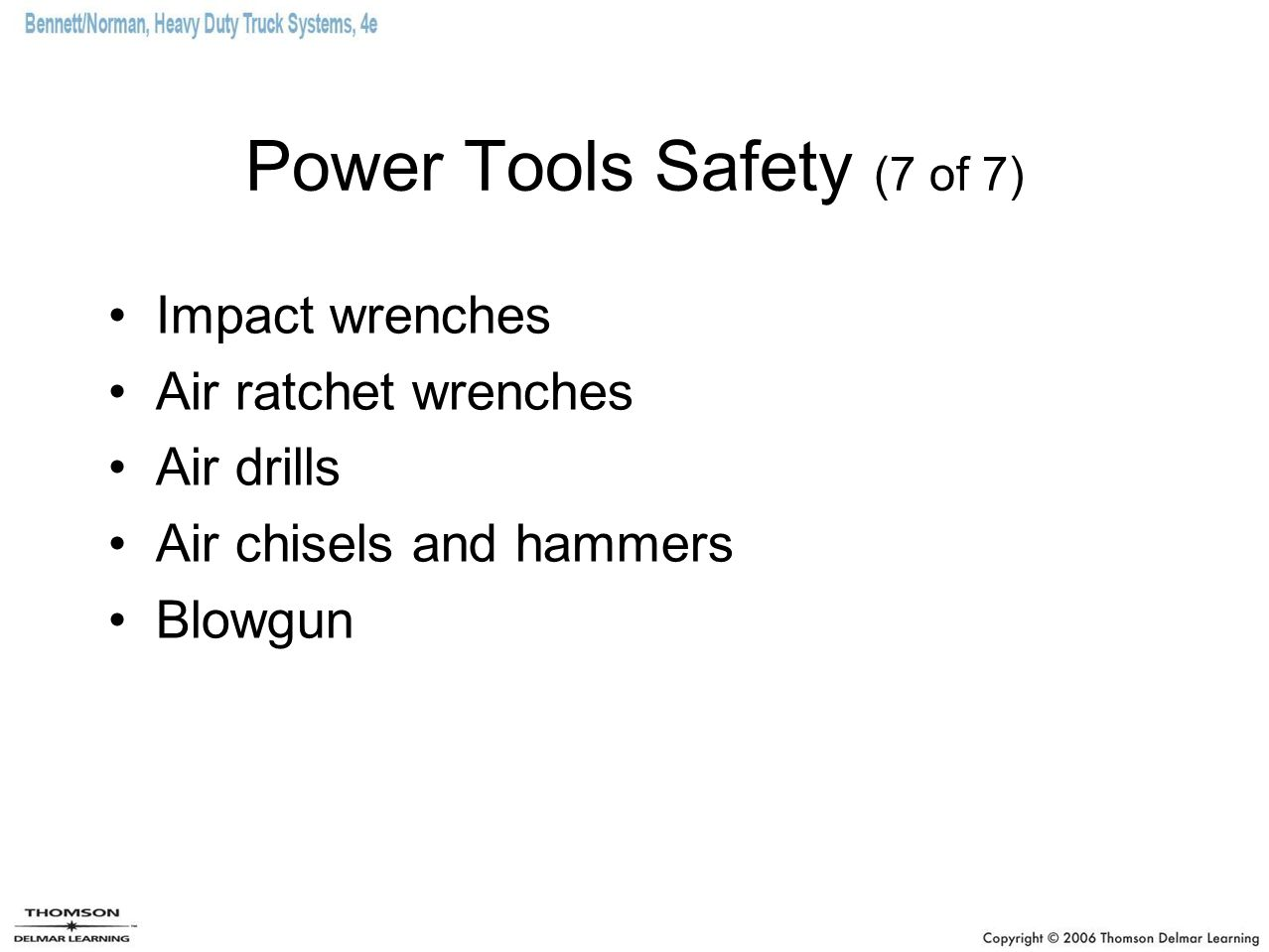 Power Tools Safety (7 of 7)