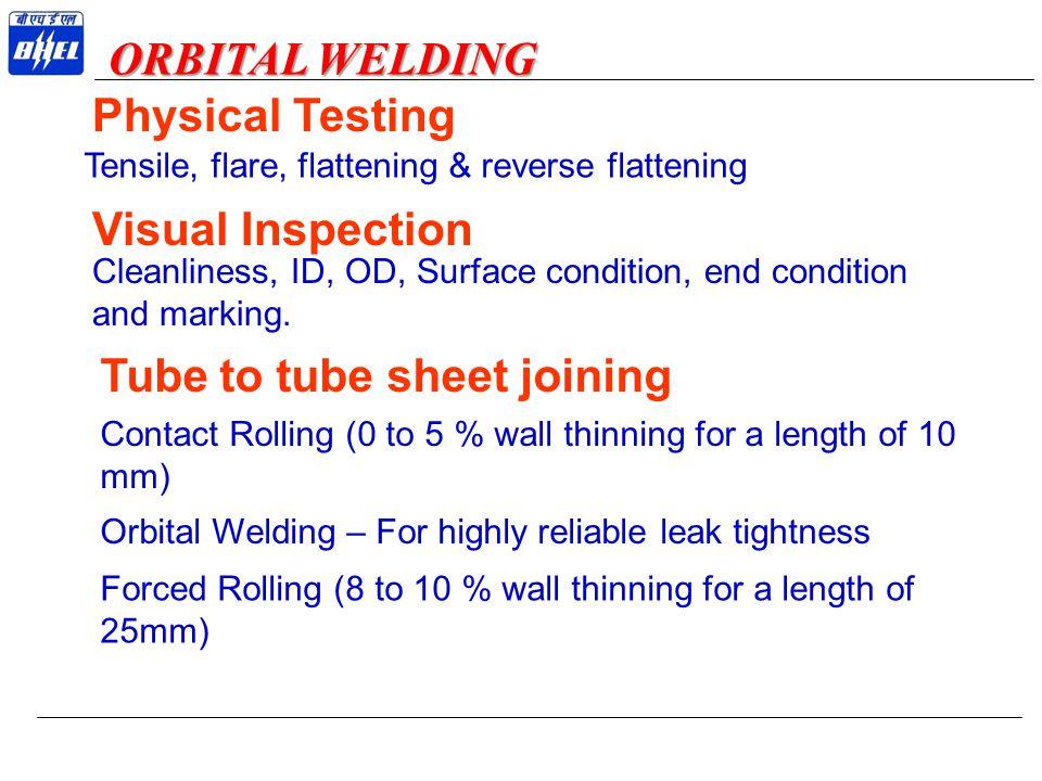 Tube to tube sheet joining