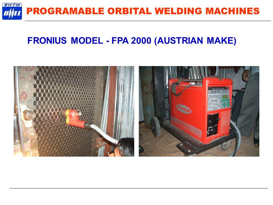 FRONIUS MODEL - FPA 2000 (AUSTRIAN MAKE)