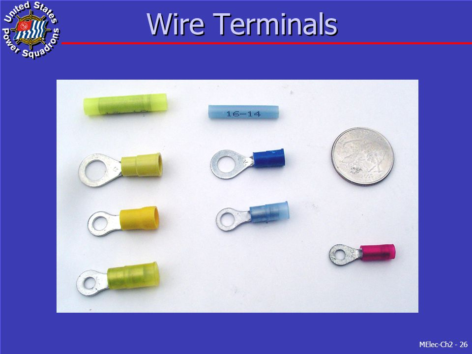 Wire Terminals Figure 2-5