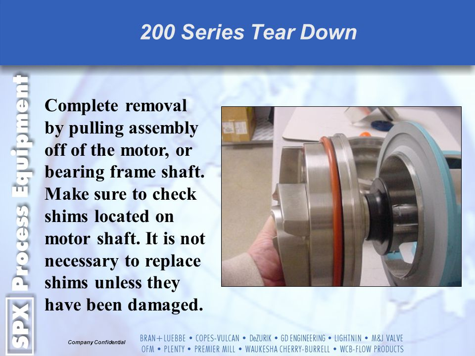 200 Series Tear Down
