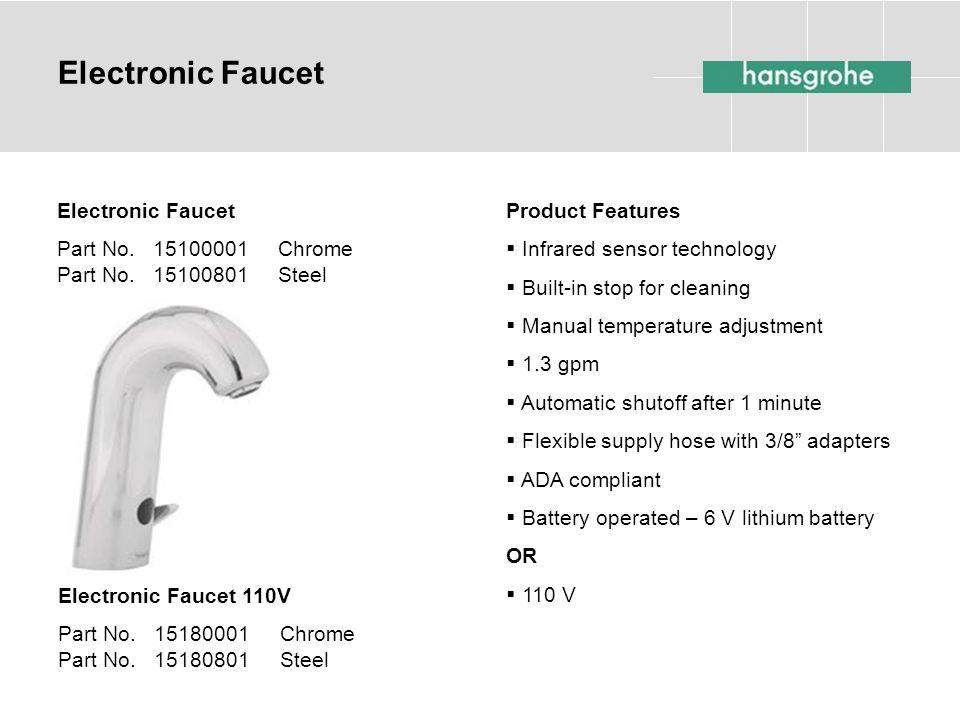 Electronic Faucet Electronic Faucet