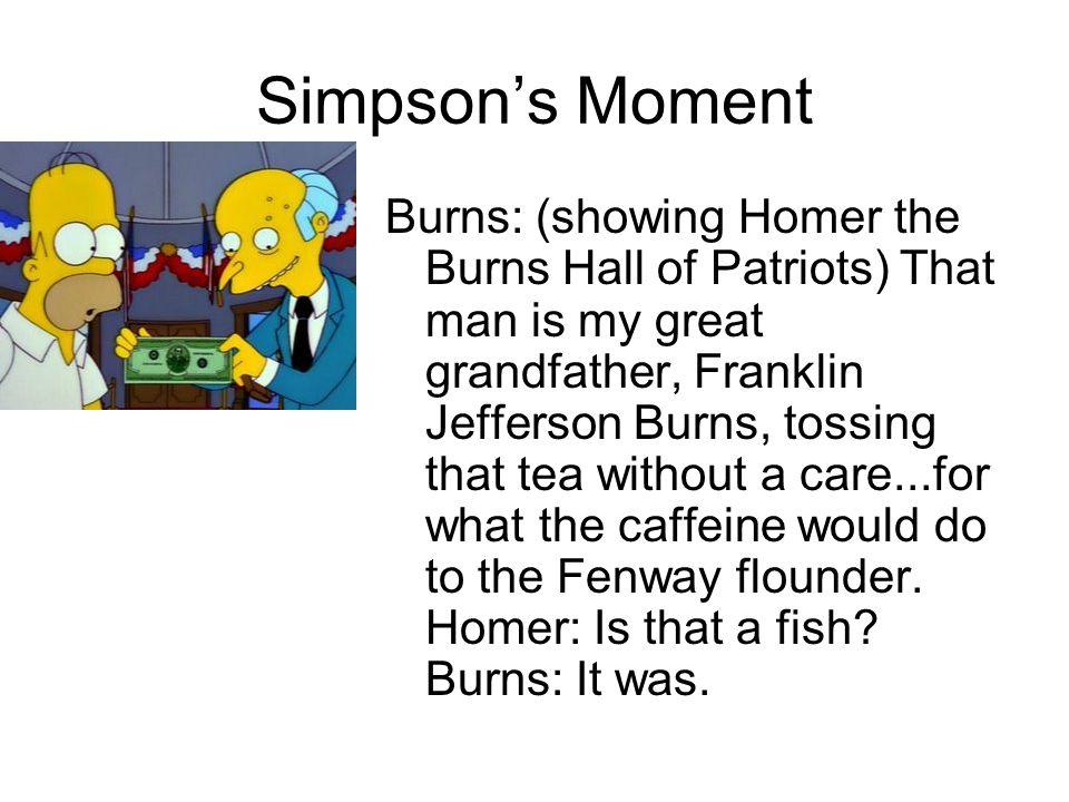 Simpson's Moment