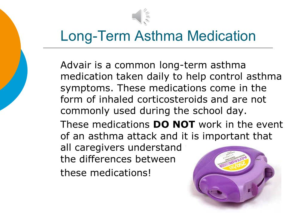 Long-Term Asthma Medication